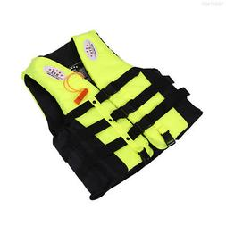 0FEC Life Jacket Floating Vest Swimming Boating Water Sports