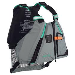 1 - Onyx Movement Dynamic Paddle SPorts Life Vest - M/L - Aq