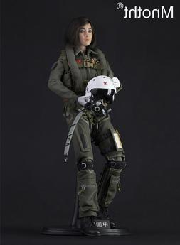 1/6 Scale Chinese Female Pilot Action Figure Box Set Model T