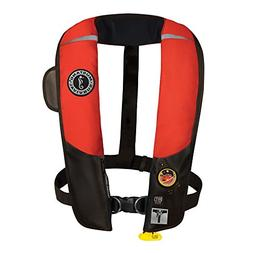 1 - Mustang HIT Inflatable Automatic PFD w/Harness - Red/Bla