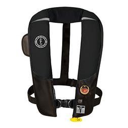 1 - Mustang HIT Inflatable Automatic PFD w/Harness - Black