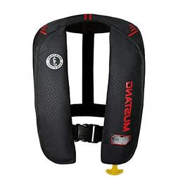 1 - Mustang MIT 100 Inflatable Automatic PFD - Black/Red