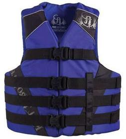 Full Throttle 1122 Adult Dual-Sized Nylon Water Sports Vest
