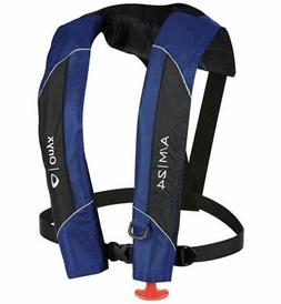 Onyx Automatic Inflatable Life Jacket Lifevest  - Blue