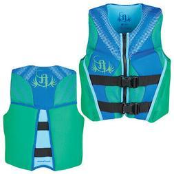Full Throttle 142500-400-002-19 Youth Life Jacket Rapid-Dry