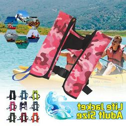 150N PFD Adult Automatic Inflatable Life Jacket Inflation Su