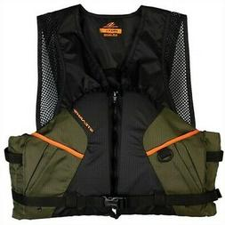 Stearns 2000013802 Comfort Fishing Life Vest Green 2X-Large