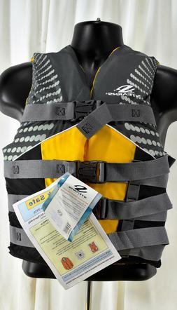 Stearns 2000015191 Infinity Women's Life Jacket Yellow/Gray