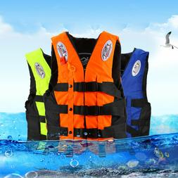2Pack Adult Life Jacket PFD Type Coast Guard Ski Vest Blue O