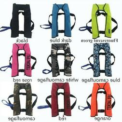 2S Adult Automatic Inflation 150N Inflatable Life Jacket 24H