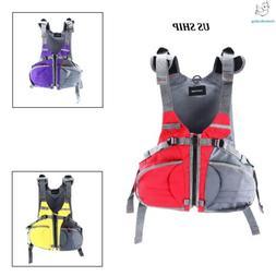 3 Colors Adjustable Size Life Jacket Floatation Device for B