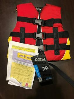 DBX 30-50lb Child Life Jacket Preserver Safety Nylon Flotati