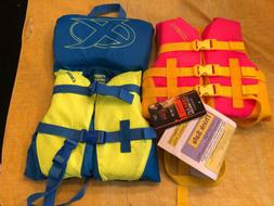 DBX 30-50lb Child Life Jacket Vest Safety Nylon Flotation Ty