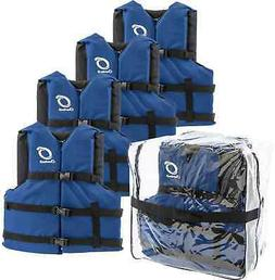 Overtons 4-Pack Life Jackets One Size