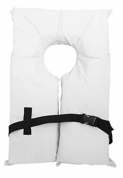 4 Pack Type II White Life Jacket Vest - Adult Universal Boat