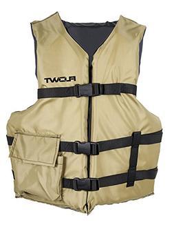 Flowt 40606-UNV Angler Fishing Adult Life Vest Type III