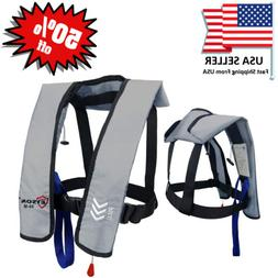 50% off Absolute Outdoor A/M-33 Inflatable Life Jacket or Co