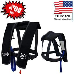 50% off Absolute Outdoor A/M-33 Automatic/Manual Inflatable