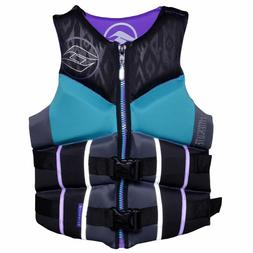 $90 Womens HIGH END Hyperlite pro V Vest Water Ski Life Jack