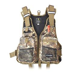 Aoile Outdoor Fly Fishing Vest,Sport Safety Life Jacket,Pock