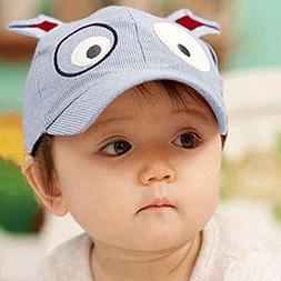 Easykan Cute Dog Baseball Cap Toddler Sun Hat Brim Kid Baby