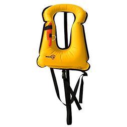 Eyson Adult Unisex Inflatable Snorkel Vest Life Jacket Life