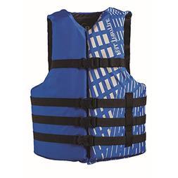 Full Throttle Adult Blue Universal Nylon Water Sports Vest