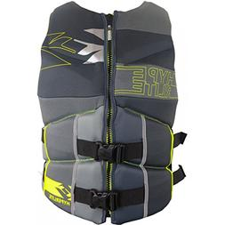 Hyperlite Men's CGA Vest 2016 ‑ Grey/Yellow ‑ XL or XXL