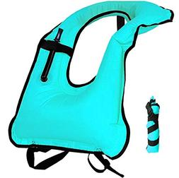 Lesberg Snorkel Vest Inflatable Life Jackets Adult Free Divi