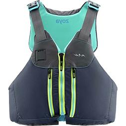 NRS Women's Zoya Lifejacket -Gray-XS/M