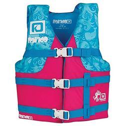 O'Brien Child Nylon Life Jacket, Pink