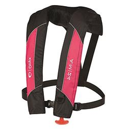 Onyx Outdoor A/M-24 Auto/Man Inflatable Life Jacket-Pink