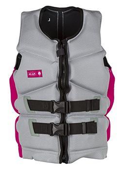 Radar Cameo 2.0 - Women's CGA Life Vest - Silver/Pink - S