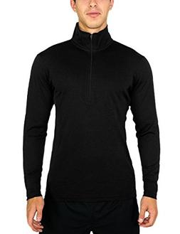 Woolx Explorer 1/4 Zip - Men's Merino Wool Base Layer Top -