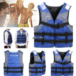 Youth Adult Vest Life Jacket Winter Outdoor Swimming Aid Sai