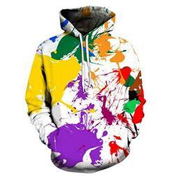 ZFADDS Tiger 3D Printed Men Women Hooded Sweatshirts Harajuk