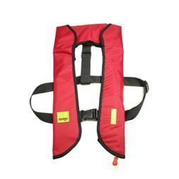 A-33 Automatic/ Manual Life Jacket Vest Auto Inflatable PFD