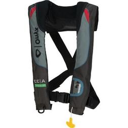 A-33 In-Sight Grey Automatic Inflatable Life Jacket Vest PFD