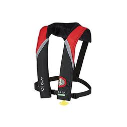Onyx A-24 In-Sight Automatic Inflatable Life Jacket - Red/Gr