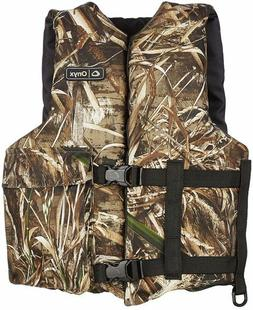 Absolute Outdoors Onyx Realtree Max-5 Camo Life Jacket Vest