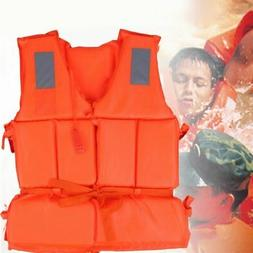 Adjustable Adult Safety Life Jacket Swimming Survival Vest B