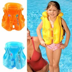 Adjustable Inflatable Safety Life Jacket Vest for Child Kid
