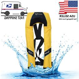 Adjustable Life Jacket Buoyancy Swimming Surfing Rafting Sno
