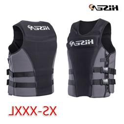 adjustable life jacket buoyancy swimming surfing rafting