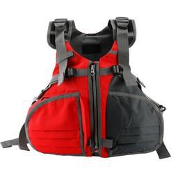 Adjustable Size Life Jacket Boat Buoyancy Aid Sailing Kayak