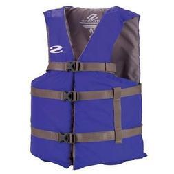 Stearns Adult 4XL Life Vest Extra Large Life Jacket Blue Uni