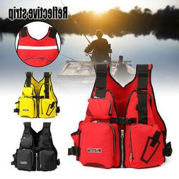 Adult Adjustable Buoyancy Aid Sail Kayak Canoeing Fishing PF