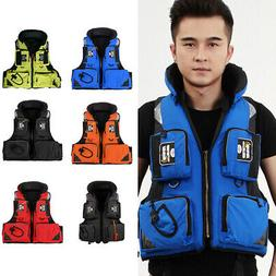 Adult Adjustable Buoyancy Aid Sailing Swimming Fishing Boati