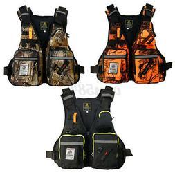 Adult Adjustable Fishing Vest Life Jackets For Kayak Reflect