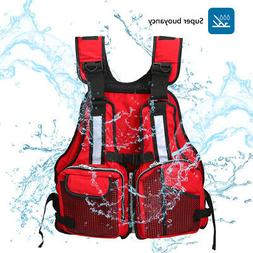 Adult Adjustable Marine Reflective Sailing Fly Fishing Vest